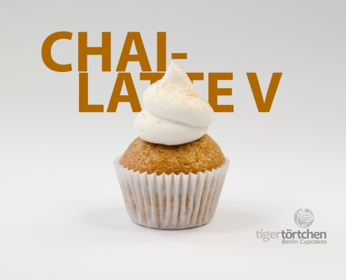 Chai Cupcake & Zitronen Creme