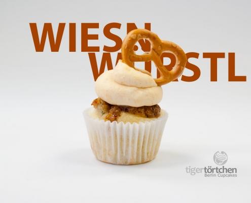 Weißwurst Cupcakes & Obazda Creme